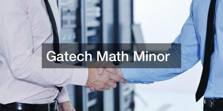 Gatech Math Minor